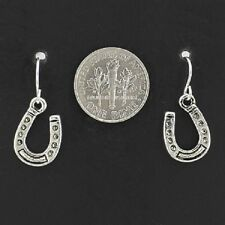 Horseshoe Western Cowgirl Rodeo Equestrian Horse Shoe Lucky Cute Earrings #7-G