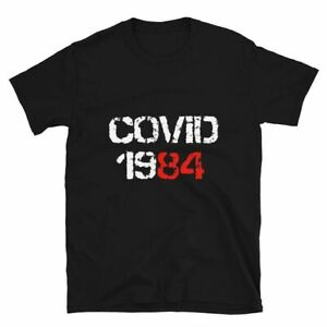 Anti Verouillage/verrouillage personne sceptique vis-à-vis Custom PROTEST T-shirt Adulte ORWELL 1984