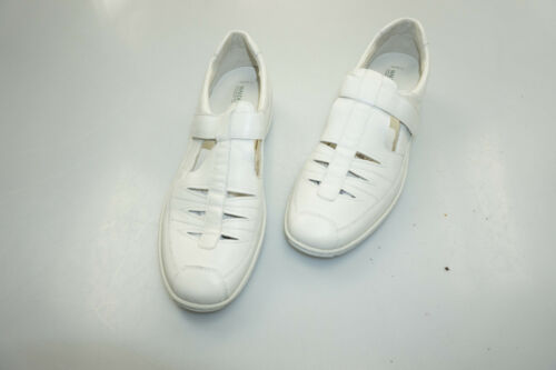 41 Comfort Ladies Leather Ranger White Summer Sandali Nuovo Shoes Sandali Gr pqXxwO0Fx