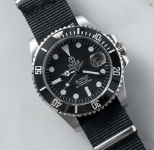 Custom Built Submariner Homage Watch with a Tiger Concept Sub Dial