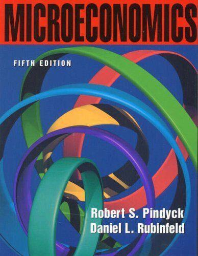 Microeconomics (International Edition),Robert Pindyck, Daniel Rubinfeld