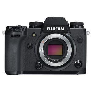2019 DernièRe Conception Fujifilm Fuji X-h1 Digital Camera Body In Black (uk Stock) Entièrement Neuf Dans Sa Boîte-afficher Le Titre D'origine