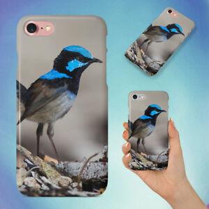 NATURE-BIRD-AUSTRALIA-WREN-HARD-BACK-CASE-FOR-APPLE-IPHONE-PHONE