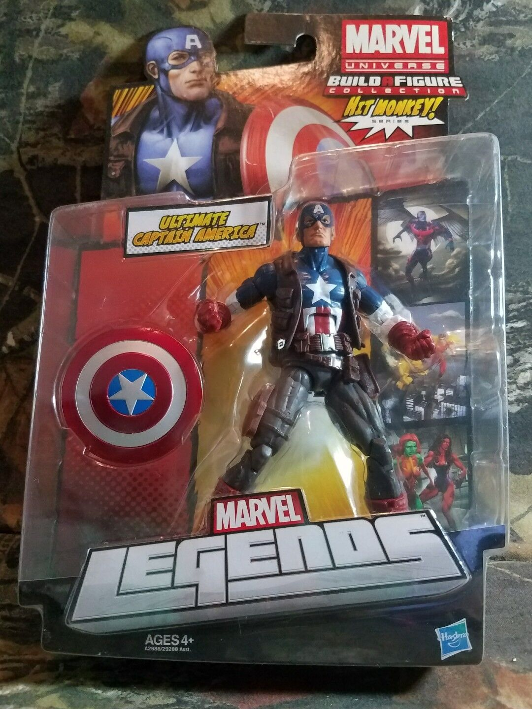 Marvel - legenden ultimative captain america actionfigur hasbro cv