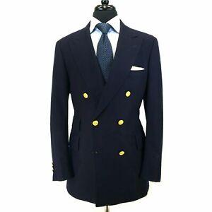 Black-Double-Breasted-Suits-2-Pcs-Peak-Lapel-Blazer-Men-Business-Tuxedo-Custom