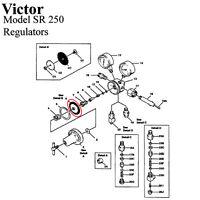 Diaphragm Only For Victor Sr200 Sr250 Series Regulator