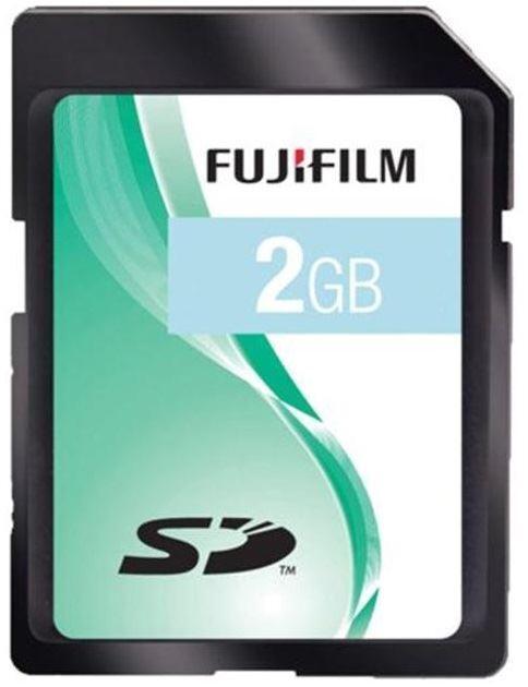 Fuji 2GB SD Memory Card for FujiFilm FinePix J27 /& XP170