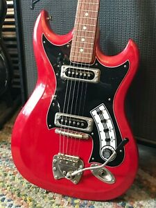 Details about Vintage 1960s Hagstrom II w/ King's Neck MADE in Sweden on