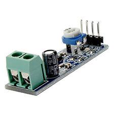 LM386 Audio Amplifier Module 200 Times Input 10K Adjustable Resistance 5V 12V DC