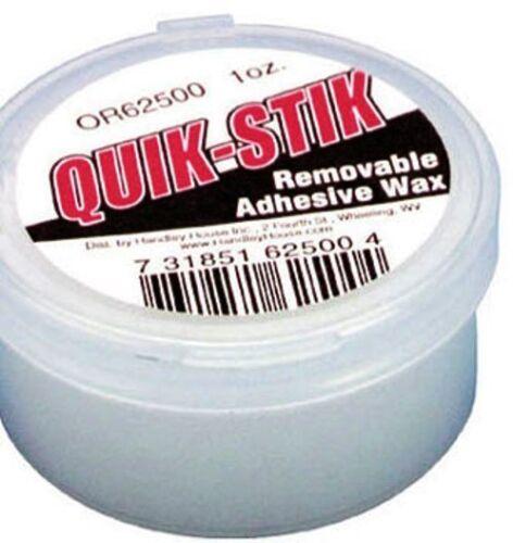 Quick Stick Dollhouse Miniature QUIK STIK Holding Earthquake Wax Museum