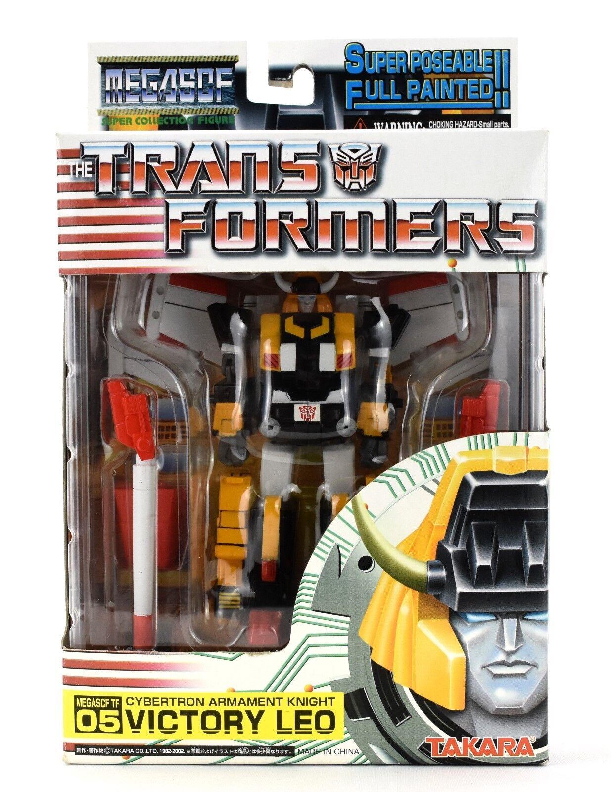 I trasformatori megascf 05 Cybertron armamento Cavaliere VICTORY Leo Action Figure
