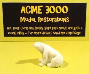 Complexé Corgi 1123 Chipperfields Circus Reproduction Repro Plastique Sitting Polar Bear-afficher Le Titre D'origine