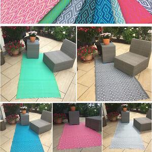 Bekannt In- und Outdoor Teppich Kunststoffteppich Wetterfest für Garten MS35