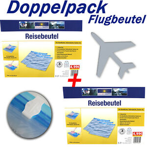 6-Stueck-Reisebeutel-Flugbeutel-Zipbeutel-fuer-Reisekoffer-Handgepaeck-ue5ue655-2964