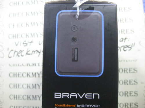NEW Braven 570 Bluetooth HD Wireless Speaker// Speakerphone// Phone Charger