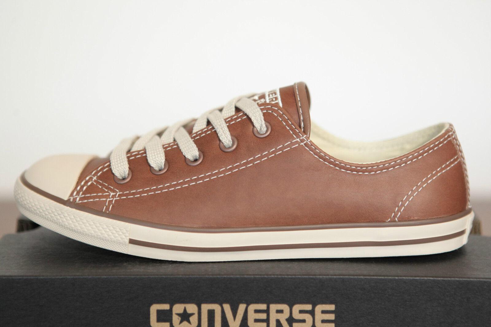 Neu Converse Chucks All Star Dainty low Sneaker Leder 537557c (79)