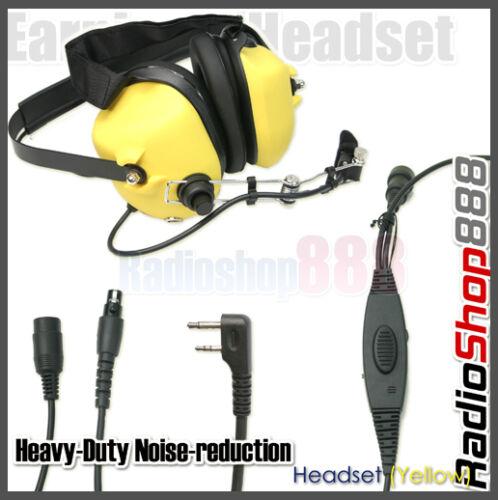 Noise-reduction Headset for IC-V8 IC-V82 F22 F31 80YSL
