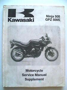 genuine kawasaki ninja gpz500s gpz 500 ex500 ex 500 1994 service rh ebay co uk Kawasaki EX500 Airtech ex500 service manual pdf