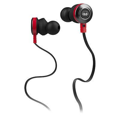 MONSTER ClarityMobile Headset InEar mit ControlTalk Universal Black NEU