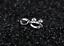 Orecchini-Donna-Acciaio-Bocca-Bacio-Kiss-Cristallo-Punto-Luce-Paio-Idea-Regalo miniatura 5