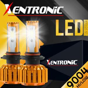 XENTRONIC LED HID Headlight Conversion 9004 HB1 6000K 1987-1988 Mercury Cougar
