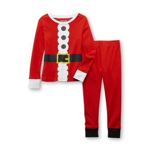 Joe Boxer 2 Pc Santa Claus Pajama PJ Outfit Cotton Tight Fit Set