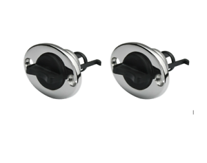2-x-Boat-Bungs-25mm-STAINLESS-STEEL-With-Nylon-Drain-Plug-Transom-Drain-bungs