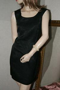 * Vilona * Robe * Robe Noir Chic Et élégante Dans Se Fleuris 40-afficher Le Titre D'origine