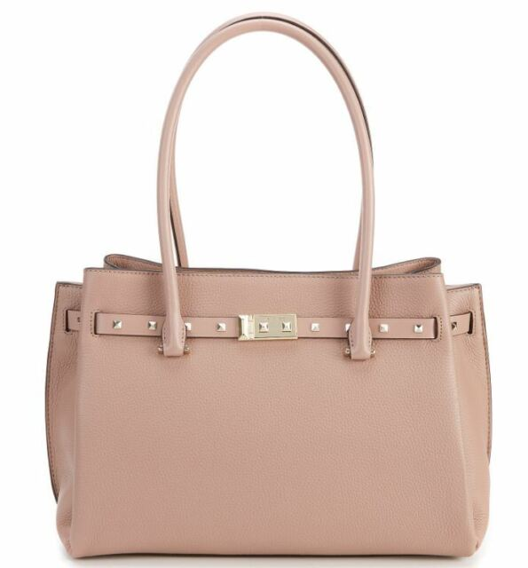 929b0bb935cbbd Michael Kors Addison Tote Large Fawn Leather Shoulder Bag for sale ...