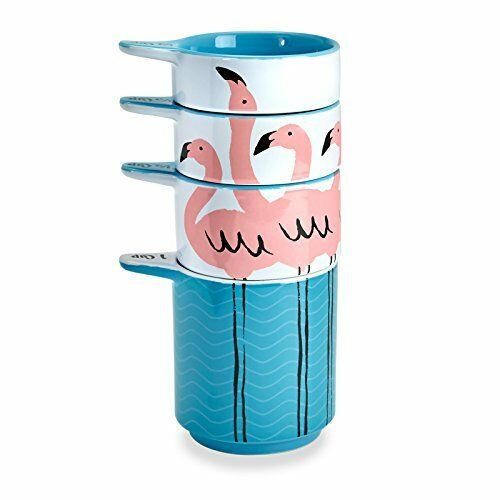 Flamingo Kitsch/'n Glam Measuring Cup Stack