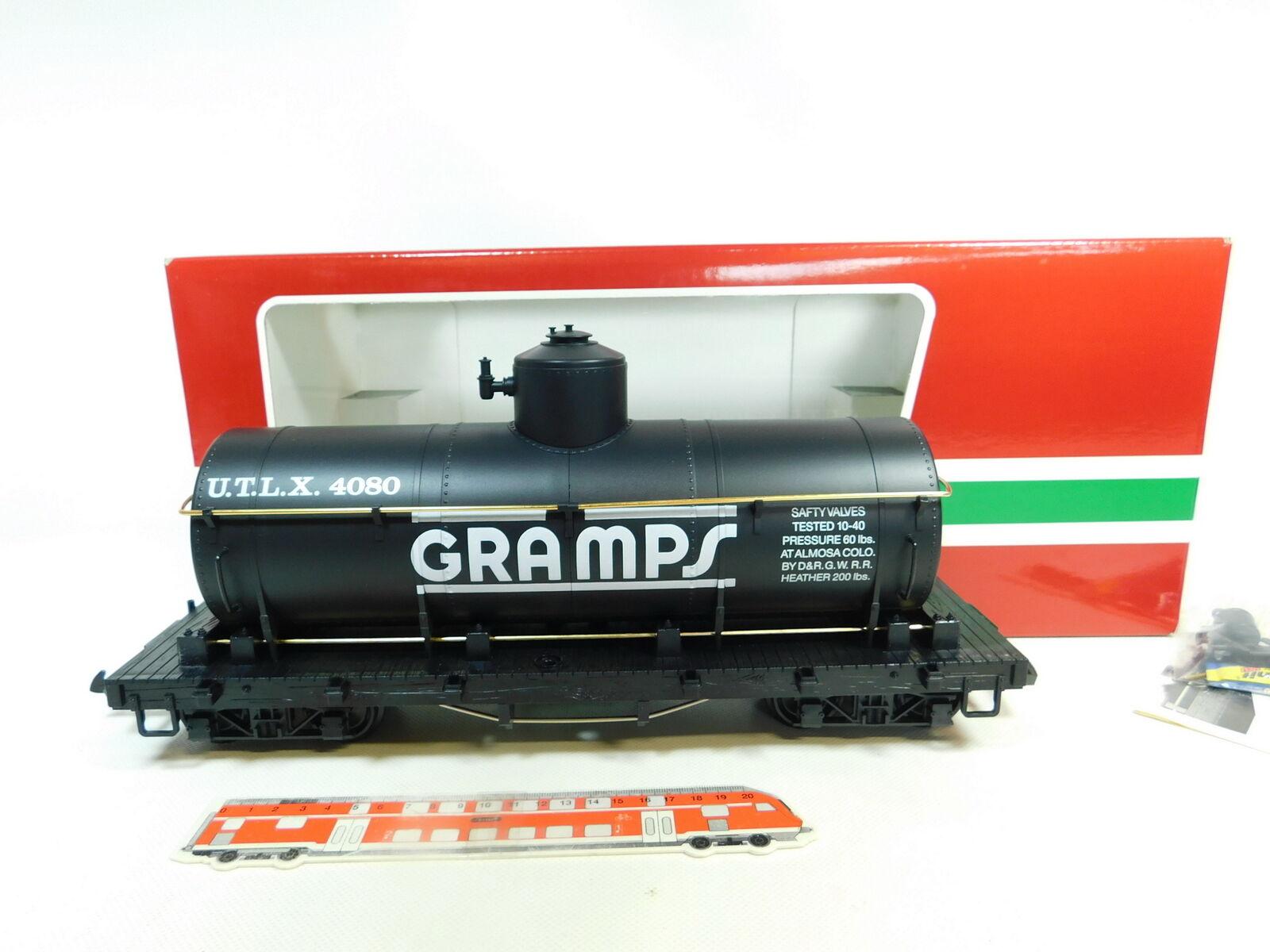 Br106-3; LGB SCALE G ILM DC 4080-Y 02 auto Wagon Greci USA