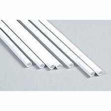 Plastruct Styrene TBFS-12 90608 5 x 9.5mm x 380mm Lengths Round Tubes 1stPost