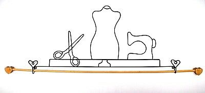 """30cm /""""Sewing Things/"""" Wire Quilt Hanger   12/"""""""