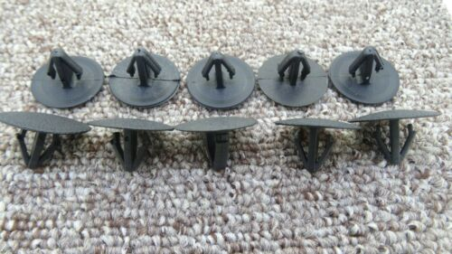 JEEP Trim Panel Push-In Rivet Bonnet Clips 10X
