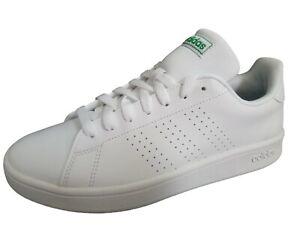 Dettagli su Adidas advantage scarpe uomo mod stan smith ginnastica pelle  colore bianco tg 42
