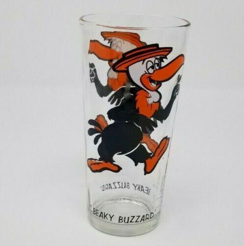 Vintage 1973  Looney Tunes BEAKY BUZZARD Pepsi Collector Series Glass