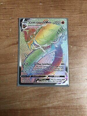Centiskorch VMAX 191//189 Pokemon Holo Foil Rare Card DARKNESS ABLAZE