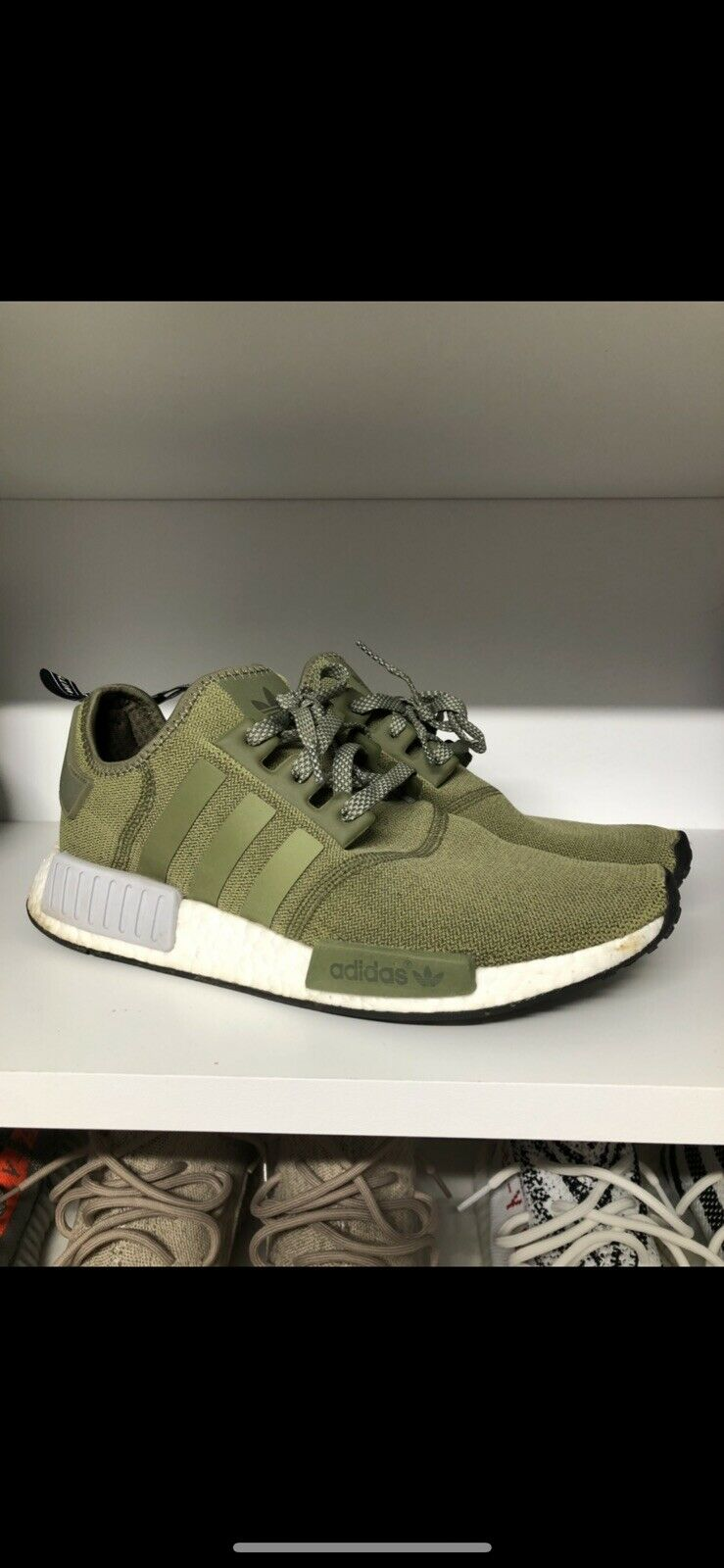 best sneakers 9eaa2 a8c70 Adidas NMD R1 Olive Green Green Green Size Us 10 Men e3a2be ...
