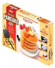 Pan Pancake Perfect Maker Omelette Eggs Flip Jack Crepes Metal As Seen On TV