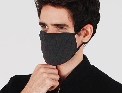 Kartun warm facial mask