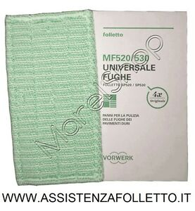 KIT-4-PANNI-IN-CONFEZIONI-PER-LAVAPAVIMENTI-SP-520-E-SP530-ORIGINALI-FOLLETTO