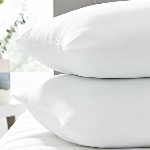 4 x Silentnight Silent Night White Deep Sleep Luxury Hollowfibre Medium Pillows