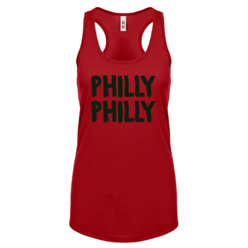 Womens Philly Philly Racerback Tank Top #3066