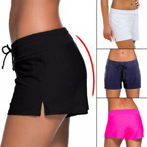 761a753885 NEW Womens Swim Shorts Tankini Bottom Bikini Sport Yoga Board Beach ...