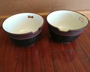 2-Vintage-WILLIAMS-SONOMA-RAMEN-BOWLS-JAPAN-SOUP-SOBA-WILLIAMS-SONOMA-udon-pho