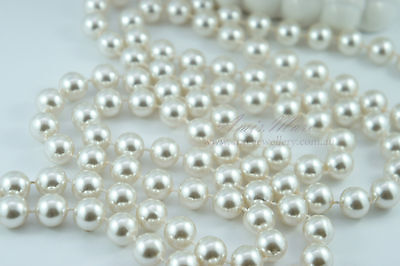 1.5 Meter 12mm Ivory Pearl Garland String 4 Wedding/Bridal/Necklace/Decorations
