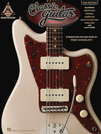 2nd Edition Guitar Recorded Version Guit Various Classic Rock Instrumentals