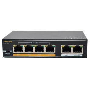 4-Kanal-POE-Switch-fuer-Uberwachungskameras-High-Quality-Pryvision-POE