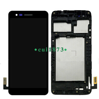 USA LCD Touch Screen Digitizer Frame For LG Rebel 3 LTE TracFone
