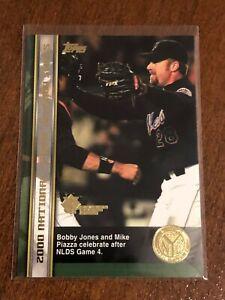2000-World-Series-Topps-Baseball-Base-Card-57-Bobby-Jones-New-York-Mets